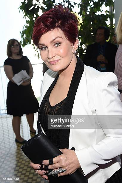 TV personality Sharon Osbourne attends The 41st Annual Daytime Emmy Awards at The Beverly Hilton Hotel on June 22 2014 in Beverly Hills California