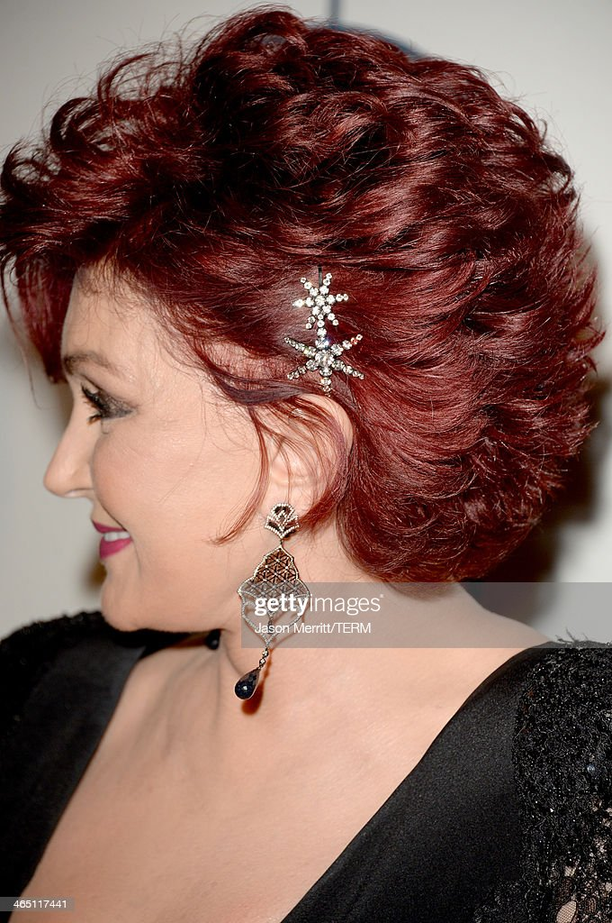 TV personality Sharon Osbourne attends the 56th annual GRAMMY Awards Pre-GRAMMY Gala and Salute to Industry Icons honoring Lucian Grainge at The Beverly Hilton on January 25, 2014 in Los Angeles, California.