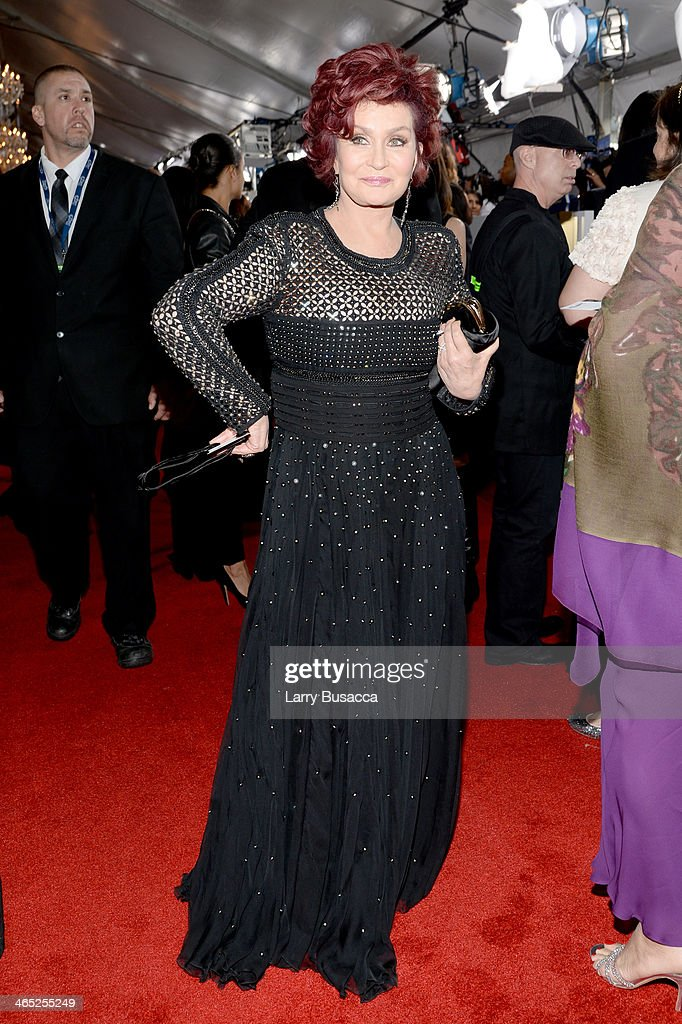 TV Personality Sharon Osbourne attends the 56th GRAMMY Awards at Staples Center on January 26, 2014 in Los Angeles, California.