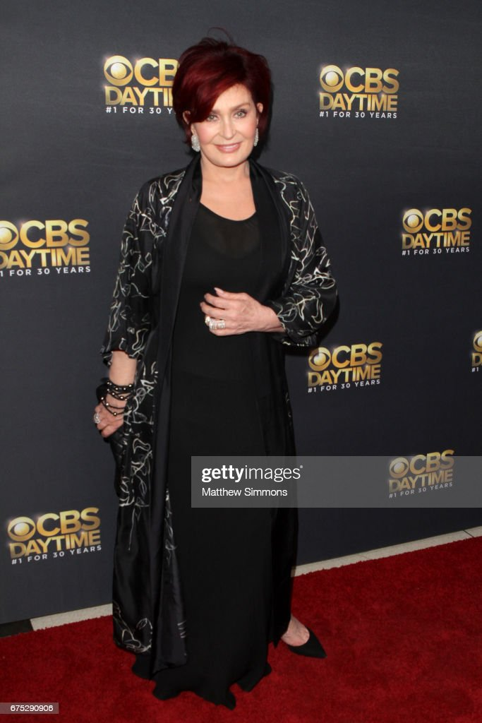 TV personality Sharon Osbourne attends the CBS Daytime Emmy after party at Pasadena Civic Auditorium on April 30, 2017 in Pasadena, California.