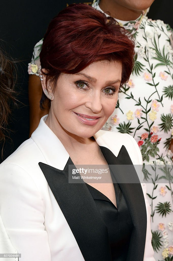 TV personality <a gi-track='captionPersonalityLinkClicked' href=/galleries/search?phrase=Sharon+Osbourne&family=editorial&specificpeople=203094 ng-click='$event.stopPropagation()'>Sharon Osbourne</a> walks the red carpet at the 43rd Annual Daytime Emmy Awards at the Westin Bonaventure Hotel on May 1, 2016 in Los Angeles, California.