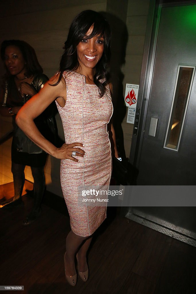 TV personality Shaun Robinson attends the After@inauguration Celebration on January 19, 2013 in Washington, United States.
