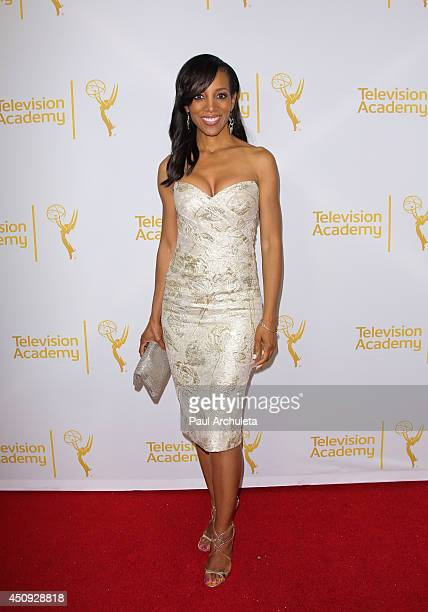 Personality Shaun Robinson attends the Daytime Emmy Nominee Reception at The London West Hollywood on June 19 2014 in West Hollywood California