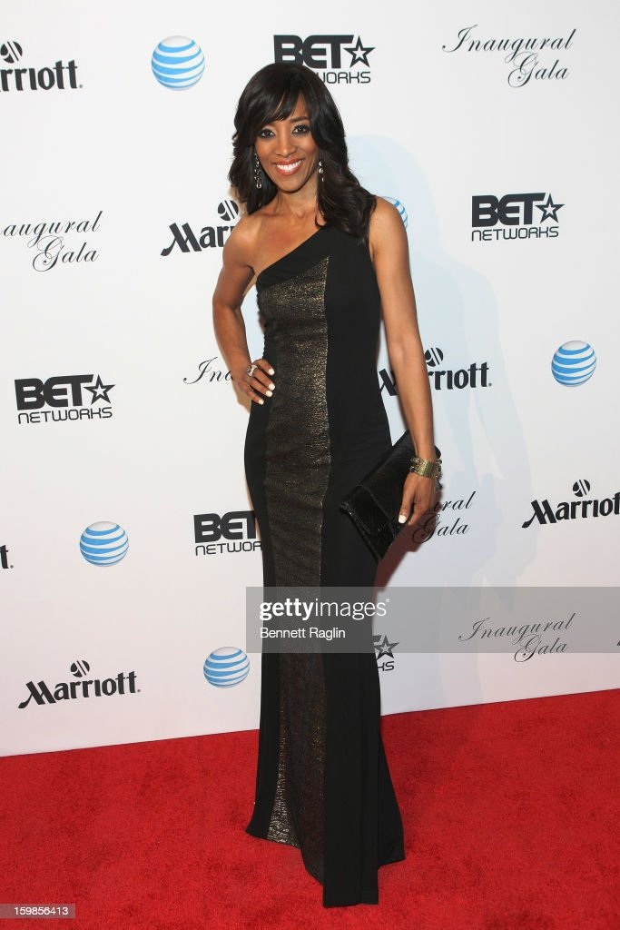 TV personality Shaun Robinson attends the Inaugural Ball hosted by BET Networks at Smithsonian American Art Museum & National Portrait Gallery on January 21, 2013 in Washington, DC.