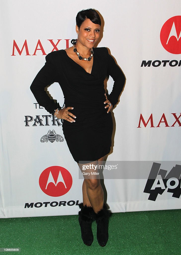 TV personality Shaunie O'Neal poses with Motorola Xoom at the Maxim Party Powered by Motorola Xoom at Centennial Hall at Fair Park on February 5, 2011 in Dallas, Texas.