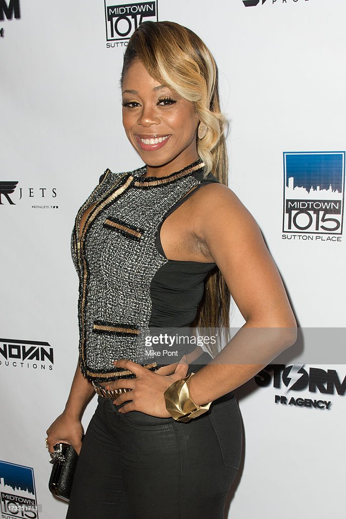 TV Personality Shay Johnson attends Renee Graziano's Celebrity Dinner Party at Midtown 1015 on July 10, 2013 in New York City.