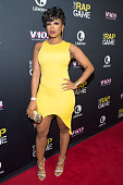 TV personality Shay Johnson attends the private screening of Lifetime's 'The Rap Game' at Suite Food Lounge on July 22 2016 in Atlanta Georgia