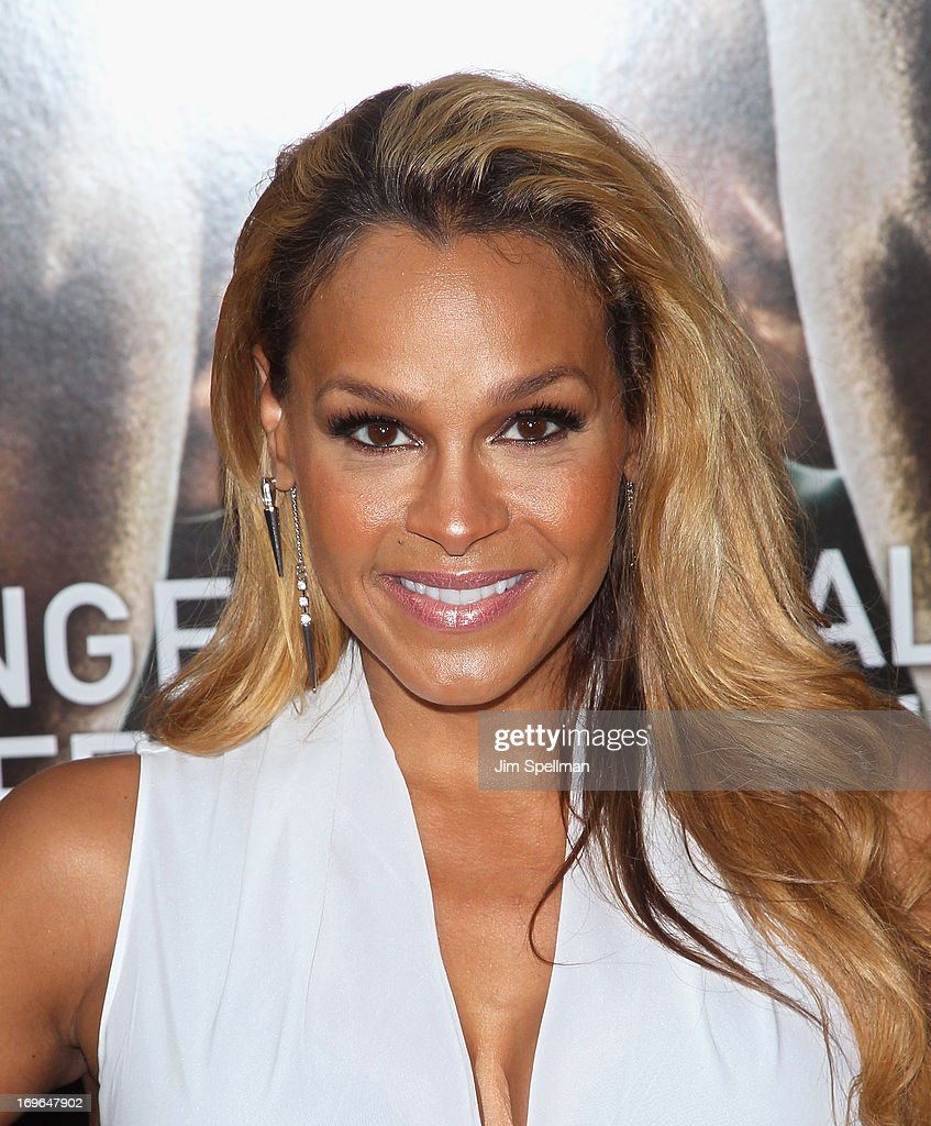TV Personality Sheree Fletcher attends the 'After Earth' premiere at the Ziegfeld Theater on May 29, 2013 in New York City.