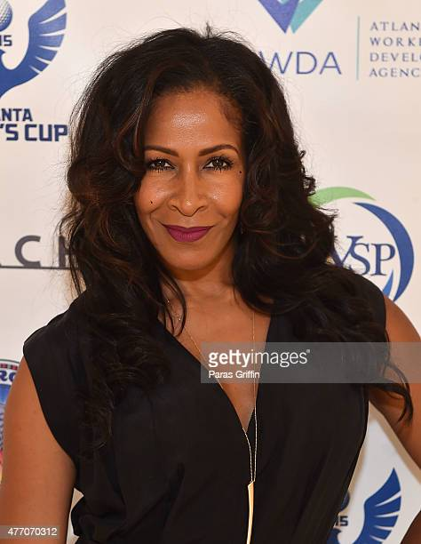 TV personality Sheree Whitfield attends Mayor Kasim Reed's 18th Annual Mayor's Cup VIP Reception Silent Auction at Pirch Atlanta on June 13 2015 in...