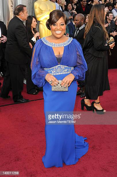 TV personality Sheri Shepherd arrives at the 84th Annual Academy Awards held at the Hollywood Highland Center on February 26 2012 in Hollywood...