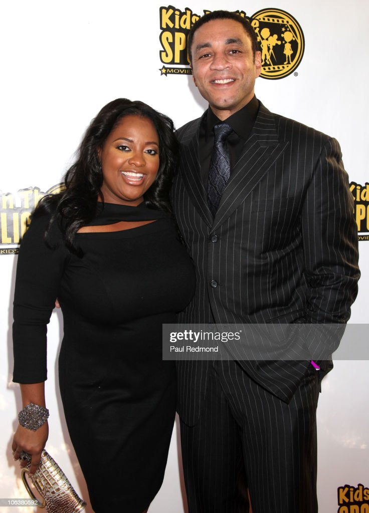TV personality Sherri Shepherd (L) and actor Harry Lennix attend Kids in the Spotlight Film Festival at Raleigh Studios on October 30, 2010 in Los Angeles, California.