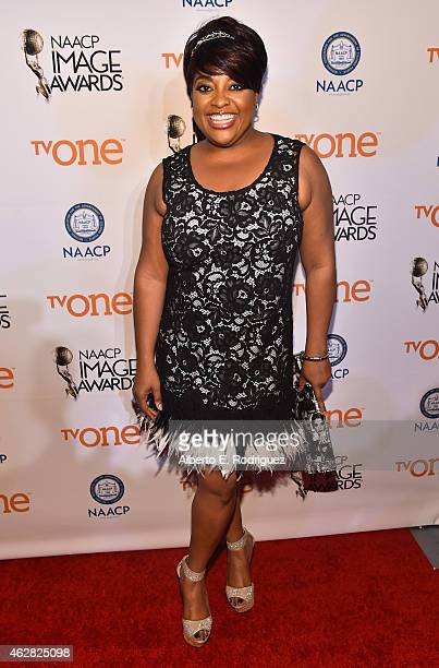 TV personality Sherri Shepherd attends the 46th NAACP Image Awards NonTelevised Awards Ceremony at Pasadena Convention Center on February 5 2015 in...