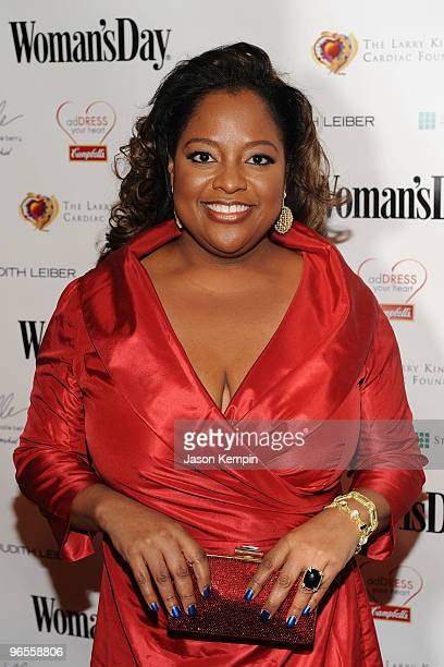 TV personality Sherri Shepherd attends the 7th Annual Red Dress Awards presented by Woman's Day at Jazz at Lincoln Center on February 10 2010 in New...