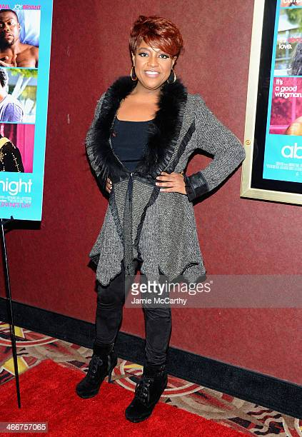 TV personality Sherri Shepherd attends the 'About Last Night' screening on February 3 2014 in New York City New York