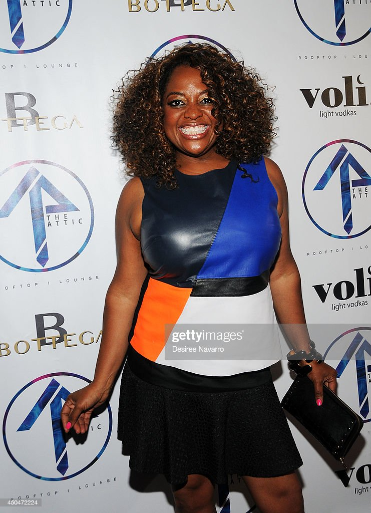 TV personality <a gi-track='captionPersonalityLinkClicked' href=/galleries/search?phrase=Sherri+Shepherd&family=editorial&specificpeople=693379 ng-click='$event.stopPropagation()'>Sherri Shepherd</a> attends the grand opening of The Attic Rooftop Lounge on June 11, 2014 in New York City.