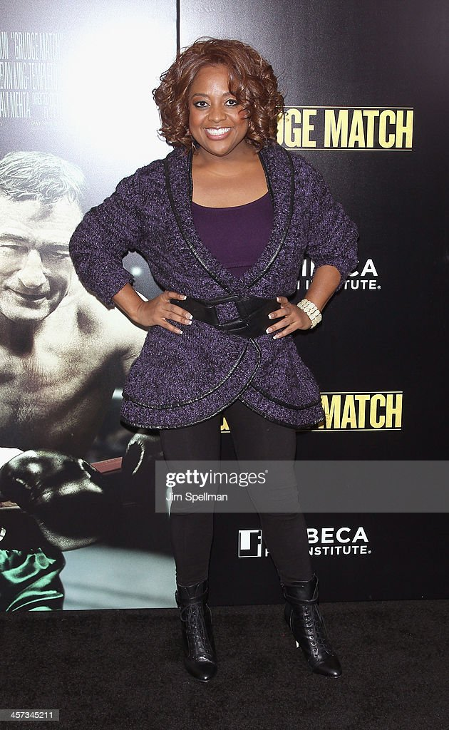 TV Personality Sherri Shepherd attends the 'Grudge Match' screening benifiting the Tribeca Film Insititute at Ziegfeld Theater on December 16, 2013 in New York City.