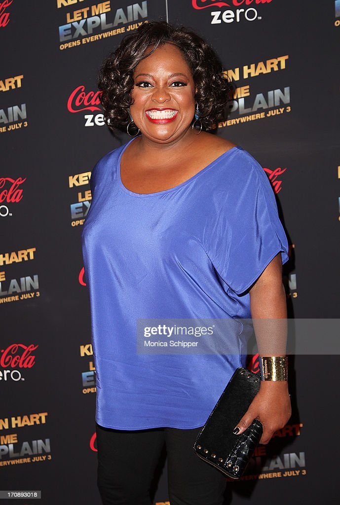TV personality Sherri Shepherd attends the 'Kevin Hart:Let Me Explain' premiere at Regal Cinemas Union Square on June 19, 2013 in New York City.