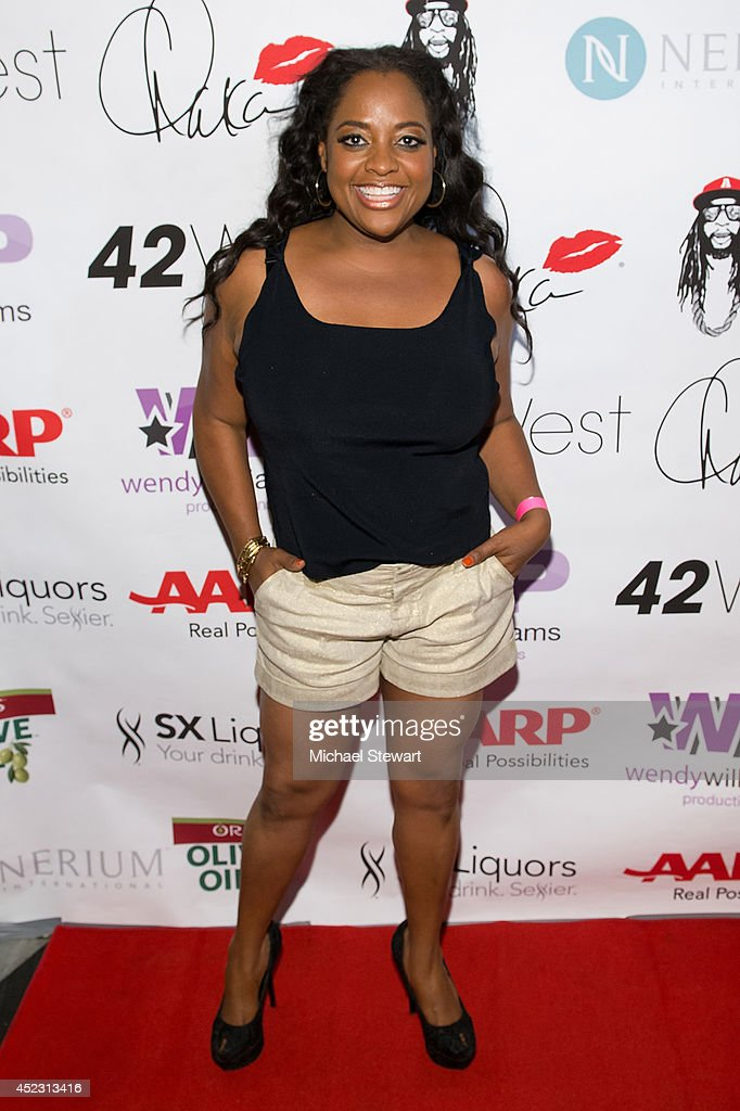 TV personality Sherri Shepherd attends Wendy Williams' 50th Birthday Party at 42West on July 17, 2014 in New York City.