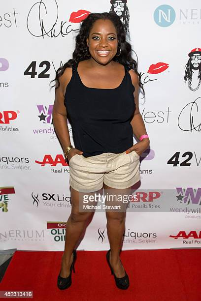 TV personality Sherri Shepherd attends Wendy Williams' 50th Birthday Party at 42West on July 17 2014 in New York City