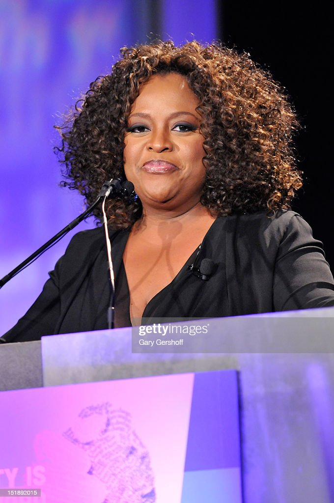 TV personality <a gi-track='captionPersonalityLinkClicked' href=/galleries/search?phrase=Sherri+Shepherd&family=editorial&specificpeople=693379 ng-click='$event.stopPropagation()'>Sherri Shepherd</a> hosts the 29th Annual Walter Kaitz Foundation Fundraising Dinner at The Hilton Hotel on September 12, 2012 in New York City.