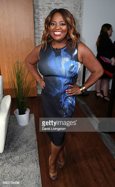 TV personality Sherri Shepherd poses at Hollywood Today Live at W Hollywood on August 16 2016 in Hollywood California