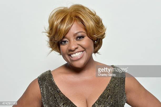 TV personality Sherri Shepherd poses for a portrait during the 45th NAACP Image Awards presented by TV One at Pasadena Civic Auditorium on February...
