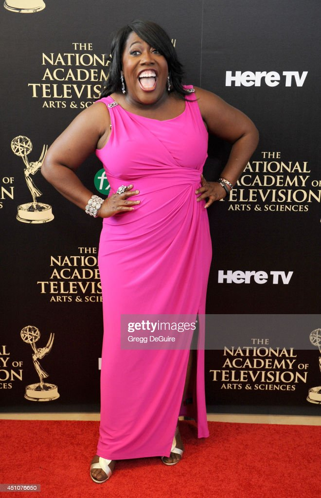 TV personality Sheryl Underwood arrives at the 41st Annual Daytime Emmy Awards at The Beverly Hilton Hotel on June 22, 2014 in Beverly Hills, California.