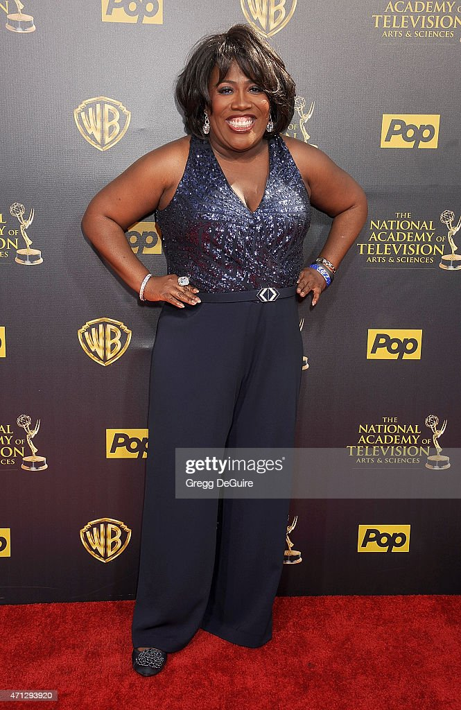 TV personality Sheryl Underwood arrives at the 42nd Annual Daytime Emmy Awards at Warner Bros. Studios on April 26, 2015 in Burbank, California.