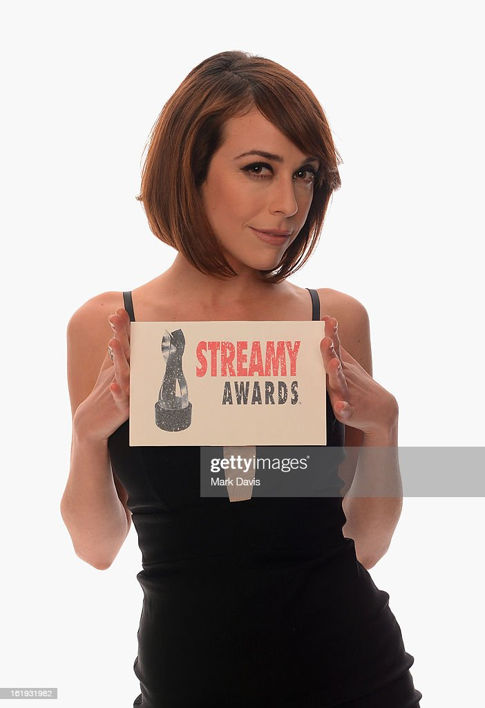 TV personality Shira Lazar poses for a portrait in the TV Guide Portrait Studio at the 3rd Annual Streamy Awards at Hollywood Palladium on February 17, 2013 in Hollywood, California.