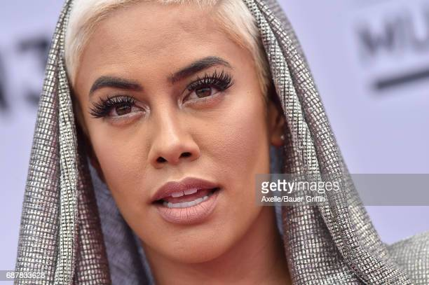 TV personality Sibley Scoles arrives at the 2017 Billboard Music Awards at TMobile Arena on May 21 2017 in Las Vegas Nevada