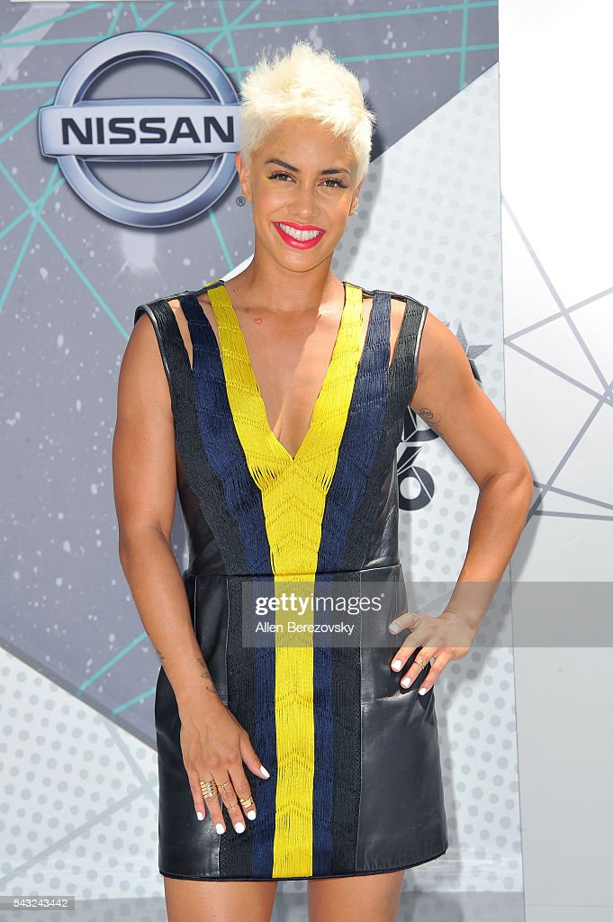 TV personality Sibley Scoles attends the 2016 BET Awards at Microsoft Theater on June 26, 2016 in Los Angeles, California.
