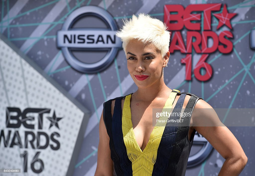 TV personality Sibley Scoles attends the 2016 BET Awards at the Microsoft Theater on June 26, 2016 in Los Angeles, California.