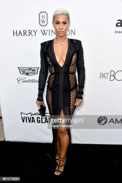 TV personality Sibley Scoles attends the amfAR Gala at Ron Burkle's Green Acres Estate on October 13 2017 in Beverly Hills California