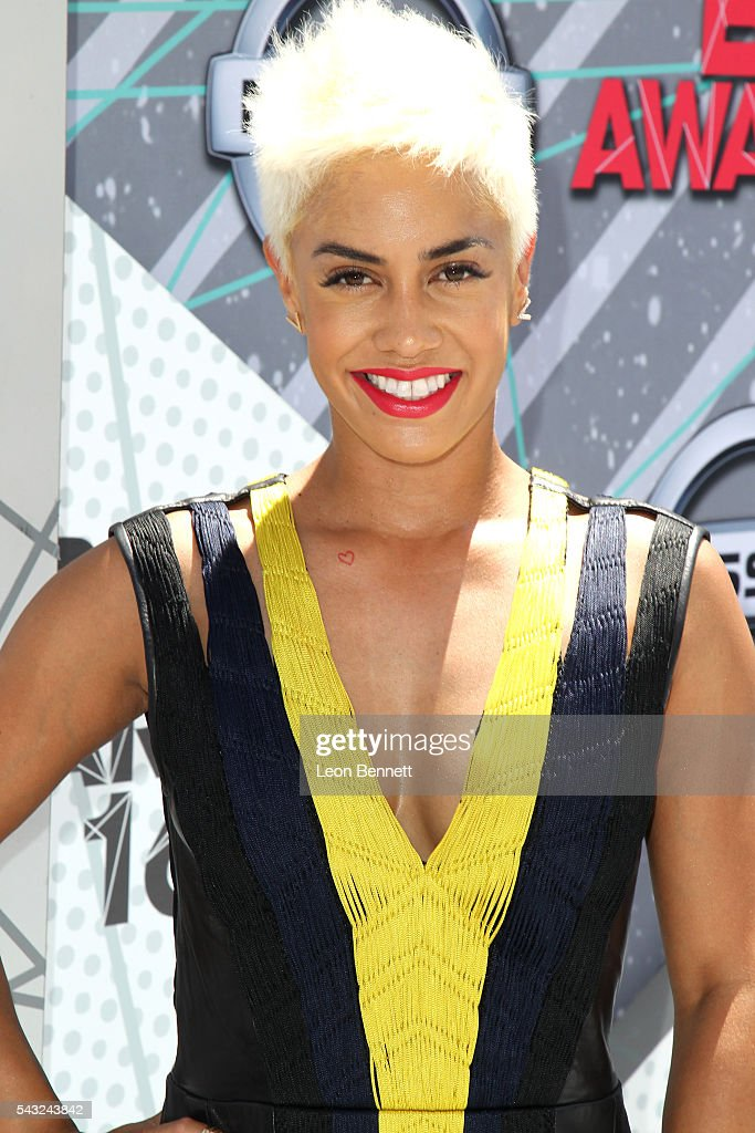 TV personality Sibley Scoles attends the Make A Wish VIP Experience at the 2016 BET Awards on June 26, 2016 in Los Angeles, California.