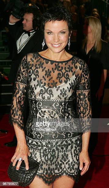 TV personality Sigrid Thornton arrives at the 52nd TV Week Logie Awards at Crown Casino on May 2 2010 in Melbourne Australia