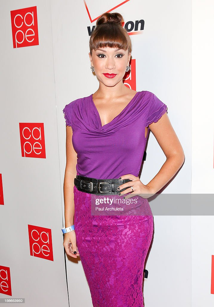 TV Personality / Singer Diana DeGarmo attends the 2012 CAPE Holiday Fundraiser 'I Am...All In' at the W Hollywood on November 17, 2012 in Hollywood, California.