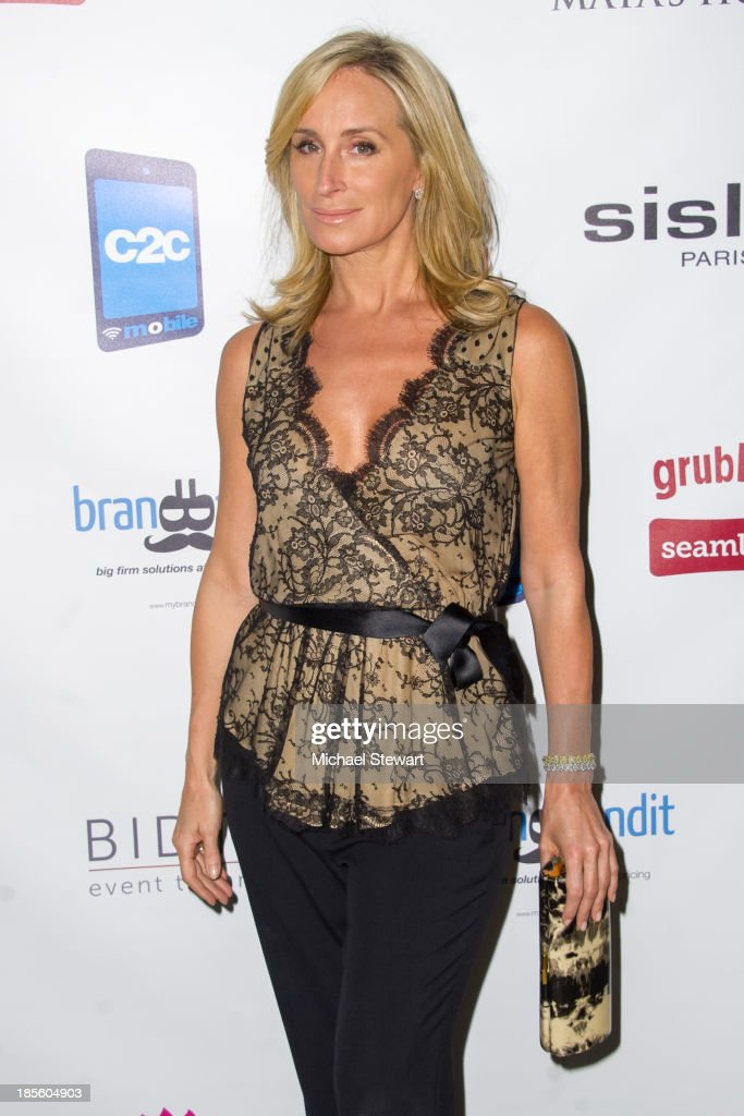 TV personality <a gi-track='captionPersonalityLinkClicked' href=/galleries/search?phrase=Sonja+Morgan&family=editorial&specificpeople=6346743 ng-click='$event.stopPropagation()'>Sonja Morgan</a> attends Maya's Hope Presents: Hope An Evening Of Superstars gala at The Fletcher Sinclair Mansion on October 22, 2013 in New York City.
