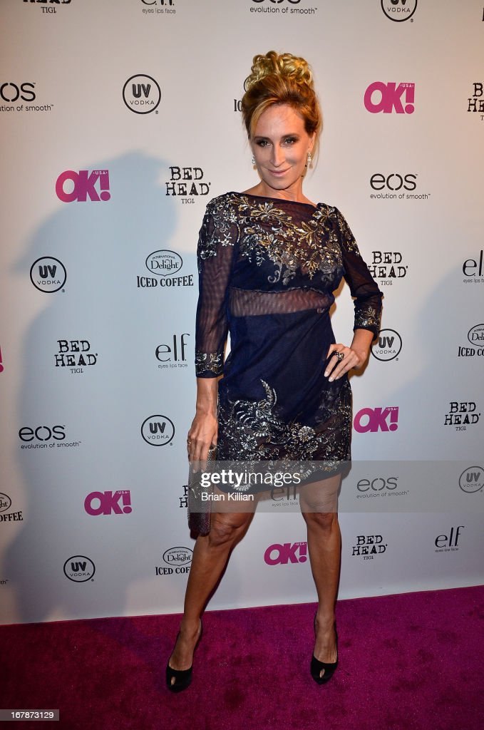 TV personality Sonja Morgan attends the 2013 OK! Magazine 'So Sexy' Party at Marquee on May 1, 2013 in New York City.
