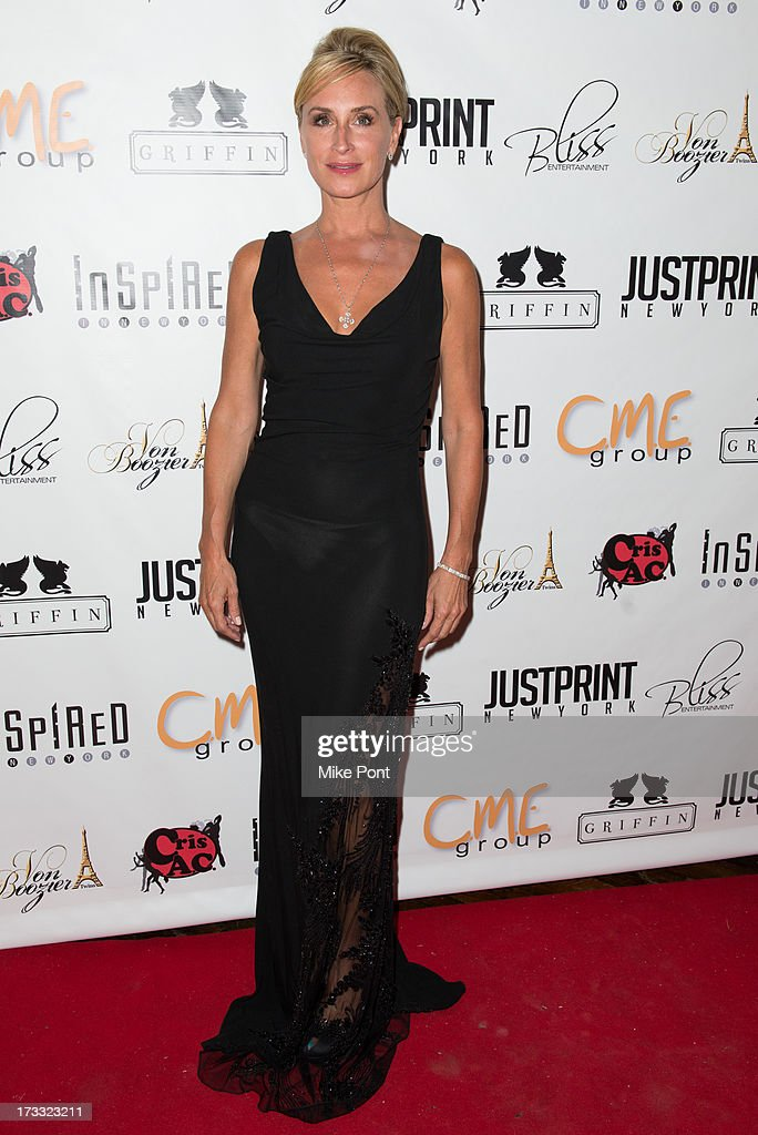 TV personality Sonja Morgan attends the 'Inspired In New York' event on July 11 2013 in New York United States