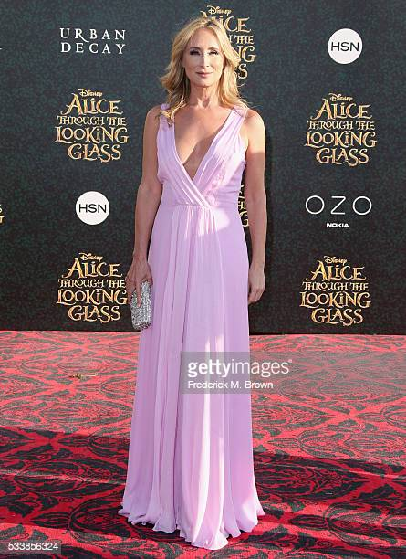 TV personality Sonja Morgan attends the premiere of Disney's 'Alice Through The Looking Glass at the El Capitan Theatre on May 23 2016 in Hollywood...