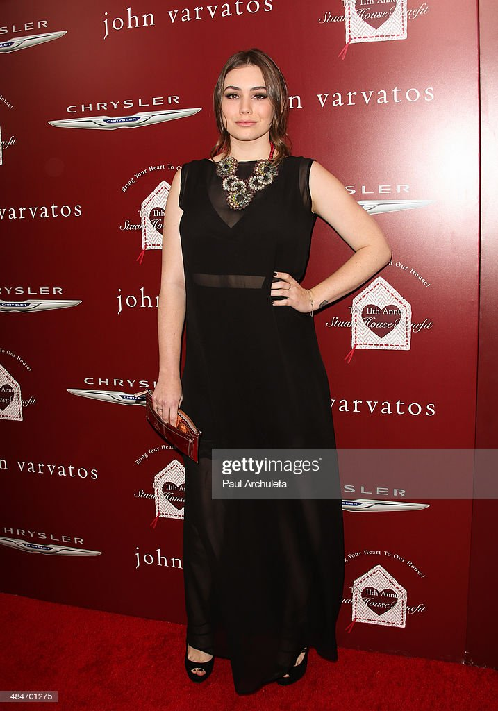 Personality Sophie Simmons attends the 11th annual Stuart House Benefit at John Varvatos on April 13 2014 in Los Angeles California