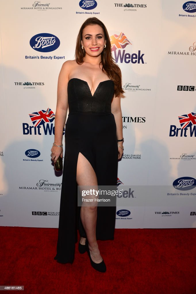 TV personality <a gi-track='captionPersonalityLinkClicked' href=/galleries/search?phrase=Sophie+Simmons&family=editorial&specificpeople=650233 ng-click='$event.stopPropagation()'>Sophie Simmons</a> attends the 8th Annual BritWeek Launch Party at a private residence on April 22, 2014 in Los Angeles, California.