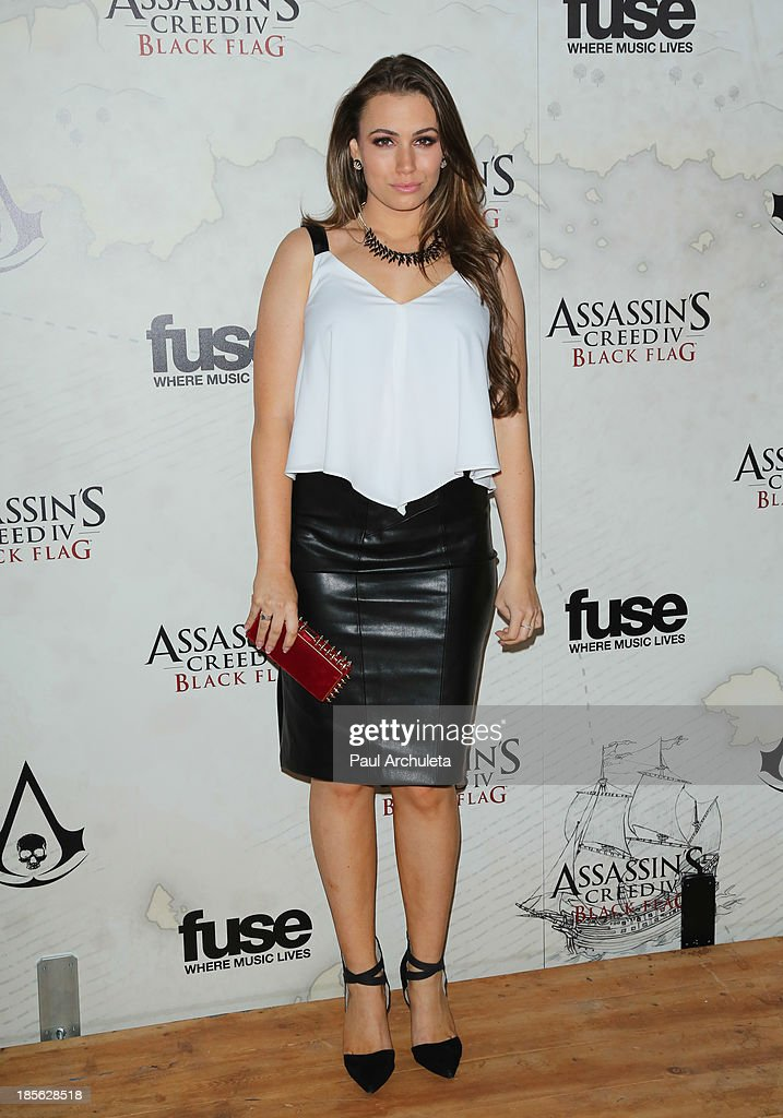 TV Personality Sophie Simmons attends the launch party for Assassin's Creed IV Black Flag at Greystone Manor Supperclub on October 22, 2013 in West Hollywood, California.