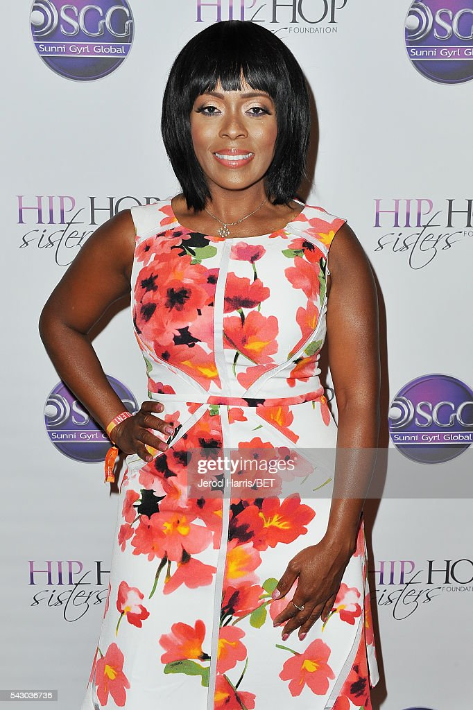 TV personality Stacey J attends Women, Wealth, and Relationships presented by HIP HOP SISTERS during the 2016 BET Experience on June 25, 2016 in Los Angeles, California.