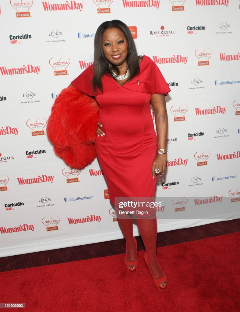 TV personality <a gi-track='captionPersonalityLinkClicked' href=/galleries/search?phrase=Star+Jones&family=editorial&specificpeople=202645 ng-click='$event.stopPropagation()'>Star Jones</a> attends the 10th Annual Red Dress Awards at Jazz at Lincoln Center on February 12, 2013 in New York City.