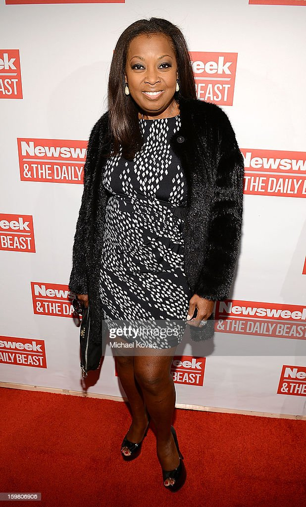 TV personality <a gi-track='captionPersonalityLinkClicked' href=/galleries/search?phrase=Star+Jones&family=editorial&specificpeople=202645 ng-click='$event.stopPropagation()'>Star Jones</a> attends The Daily Beast Bi-Partisan Inauguration Brunch at Cafe Milano on January 20, 2013 in Washington, DC.