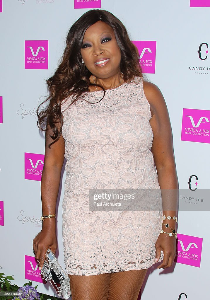 TV Personality Star Jones attends Vivica A. Fox's 50th birthday celebration at Philippe Chow on August 2, 2014 in Beverly Hills, California.