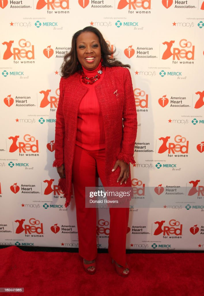 TV personality <a gi-track='captionPersonalityLinkClicked' href=/galleries/search?phrase=Star+Jones&family=editorial&specificpeople=202645 ng-click='$event.stopPropagation()'>Star Jones</a>, who is Heart Disease Survivor and American Heart Association National Volunteer, attends the event to celebrate the 10th National Wear Red Day with American Heart Association's Go Red For Women movement at Macy's Herald Square on January 31, 2013 in New York City.