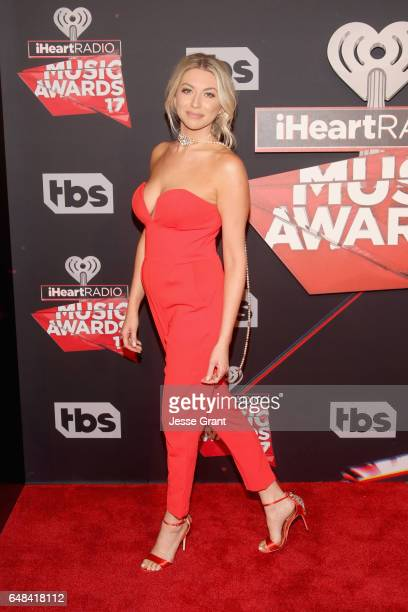 TV personality Stassi Schroeder attends the 2017 iHeartRadio Music Awards which broadcast live on Turner's TBS TNT and truTV at The Forum on March 5...