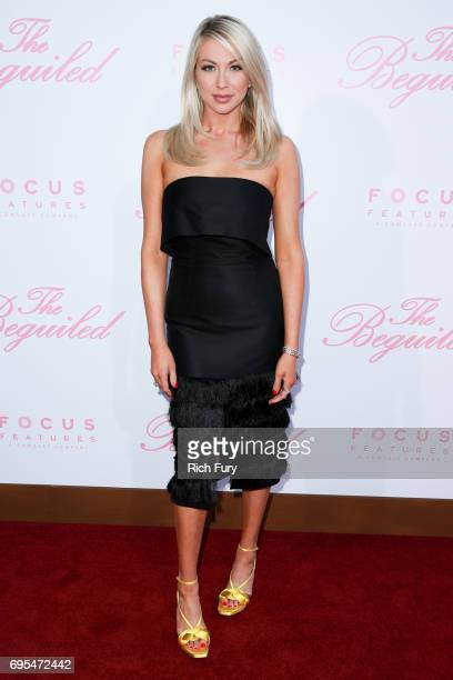 TV personality Stassi Schroeder attends the premiere of Focus Features' 'The Beguiled' at Directors Guild Of America on June 12 2017 in Los Angeles...